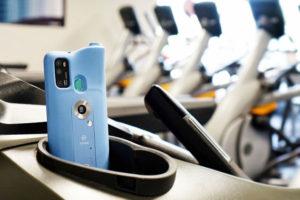 vmed health monitoring smartphone case